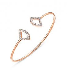 Fan Crystal Bangle